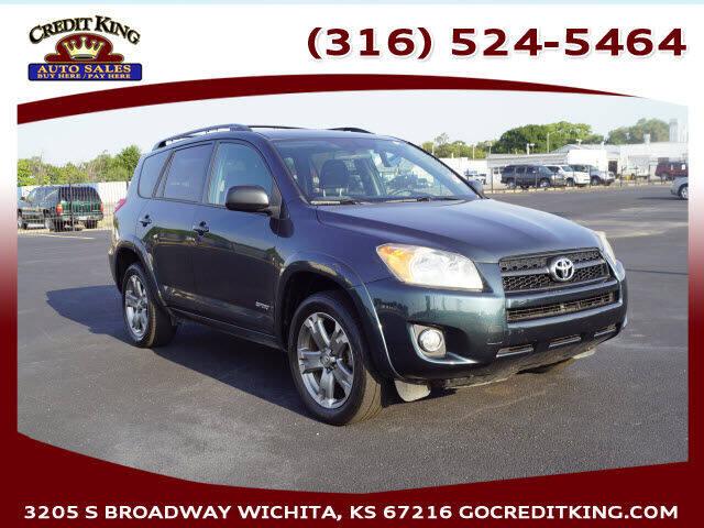 2010 Toyota RAV4 for sale at Credit King Auto Sales in Wichita KS