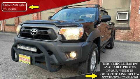 2014 Toyota Tacoma for sale at Rocky's Auto Sales in Worcester MA