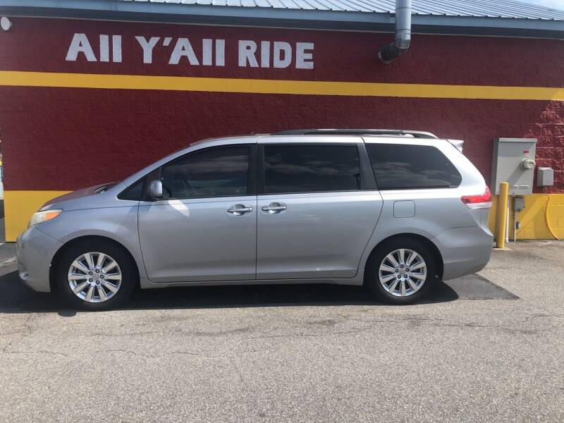 2011 Toyota Sienna for sale at Big Daddy's Auto in Winston-Salem NC