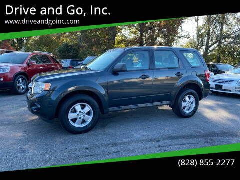 2009 Ford Escape for sale at Drive and Go, Inc. in Hickory NC