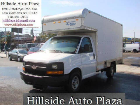 2014 Chevrolet Express Cutaway for sale at Hillside Auto Plaza in Kew Gardens NY