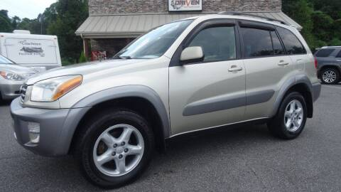 2001 Toyota RAV4 for sale at Driven Pre-Owned in Lenoir NC