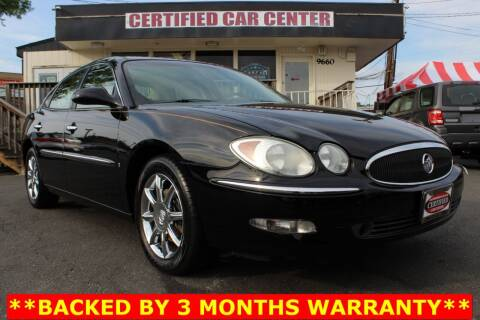 2006 Buick LaCrosse for sale at CERTIFIED CAR CENTER in Fairfax VA