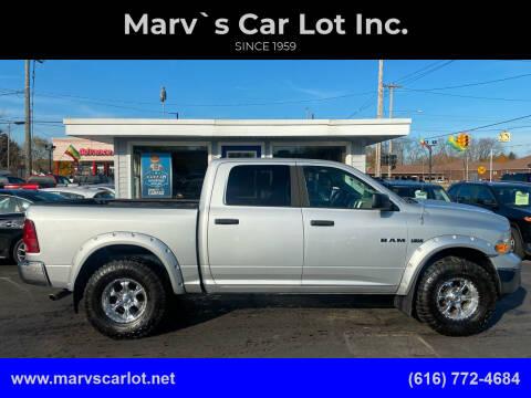 2009 Dodge Ram Pickup 1500 for sale at Marv`s Car Lot Inc. in Zeeland MI