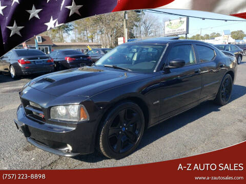 2010 Dodge Charger for sale at A-Z Auto Sales in Newport News VA