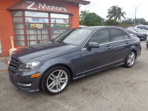 2014 Mercedes-Benz C-Class for sale at Z MOTORS INC in Hollywood FL