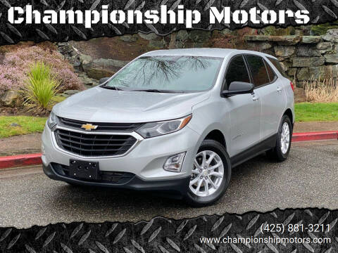2018 Chevrolet Equinox for sale at Championship Motors in Redmond WA