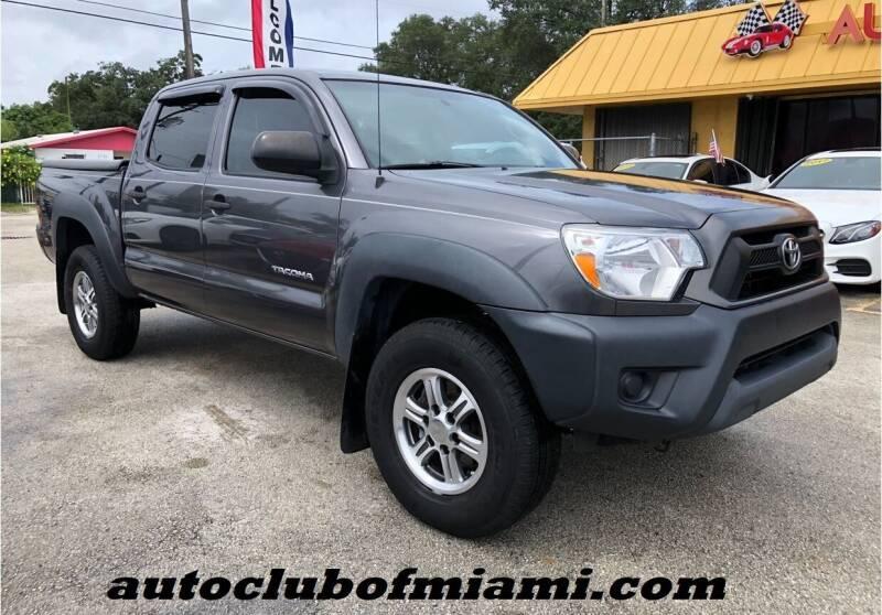 2015 Toyota Tacoma for sale at AUTO CLUB OF MIAMI, INC in Miami FL