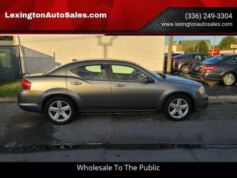 2013 Dodge Avenger for sale at LexingtonAutoSales.com in Lexington NC