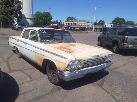 1962 Chevrolet Bel Air for sale at Tower Motors in Brainerd MN