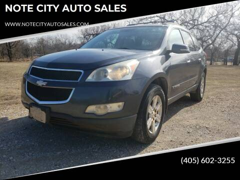 2009 Chevrolet Traverse for sale at NOTE CITY AUTO SALES in Oklahoma City OK