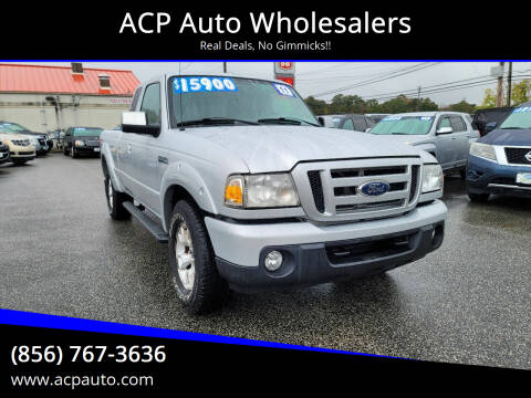 2011 Ford Ranger for sale at ACP Auto Wholesalers in Berlin NJ