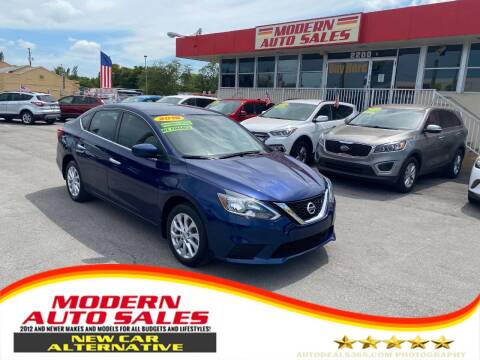 2018 Nissan Sentra for sale at Modern Auto Sales in Hollywood FL