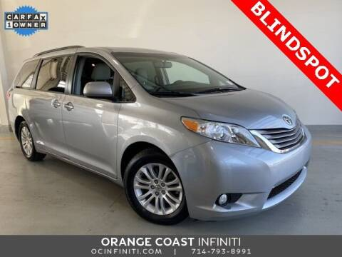 2015 Toyota Sienna for sale at ORANGE COAST CARS in Westminster CA