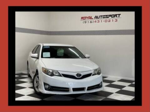 2014 Toyota Camry for sale at Royal AutoSport in Sacramento CA