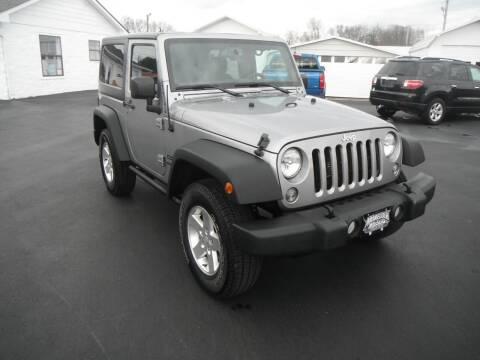 2015 Jeep Wrangler for sale at Morelock Motors INC in Maryville TN