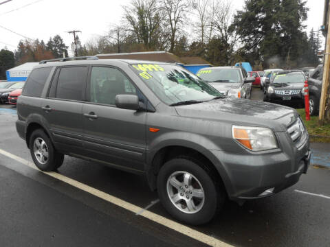 2007 Honda Pilot for sale at Lino's Autos Inc in Vancouver WA