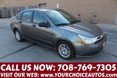 2010 Ford Focus for sale at Your Choice Autos in Posen IL