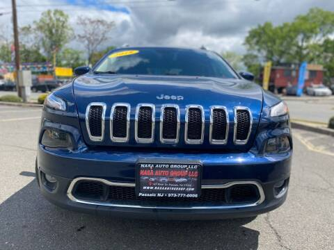 2018 Jeep Cherokee for sale at Nasa Auto Group LLC in Passaic NJ