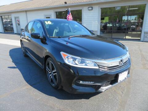 2016 Honda Accord for sale at Tri-County Pre-Owned Superstore in Reynoldsburg OH