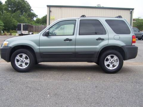 2006 Ford Escape for sale at Darin Grooms Auto Sales in Lincolnton NC