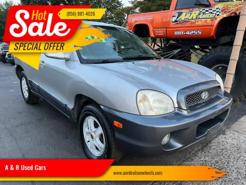 2003 Hyundai Santa Fe for sale at A & R Used Cars in Clayton NJ
