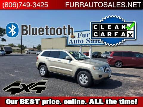 2011 Jeep Grand Cherokee for sale at FURR AUTO SALES in Lubbock TX
