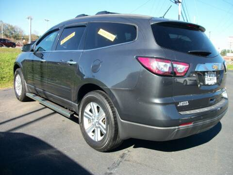 2013 Chevrolet Traverse for sale at Lentz's Auto Sales in Albemarle NC