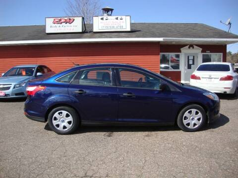 2012 Ford Focus for sale at G and G AUTO SALES in Merrill WI