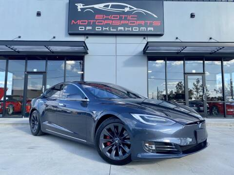 2020 Tesla Model S for sale at Exotic Motorsports of Oklahoma in Edmond OK