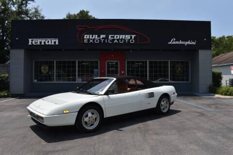 1990 Ferrari Mondial Cabriolet for sale at Gulf Coast Exotic Auto in Biloxi MS