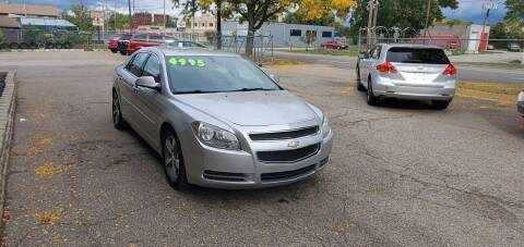 2011 Chevrolet Malibu for sale at Harvey Auto Sales, LLC. in Flint MI