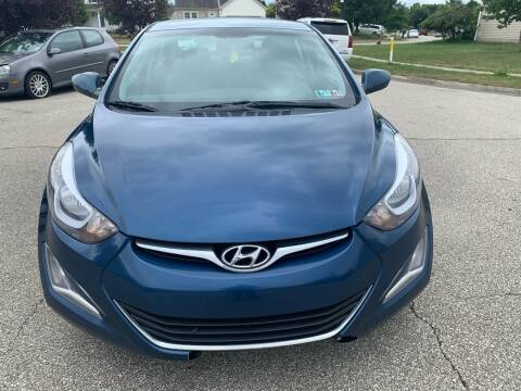 2015 Hyundai Elantra for sale at Via Roma Auto Sales in Columbus OH