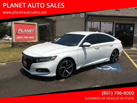 2019 Honda Accord for sale at PLANET AUTO SALES in Lindon UT