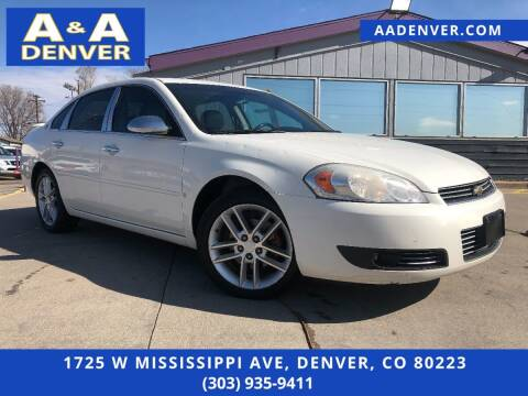 2008 Chevrolet Impala for sale at A & A AUTO LLC in Denver CO