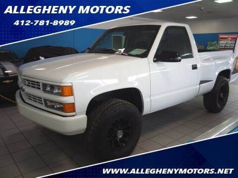 1998 Chevrolet C/K 1500 Series for sale at Allegheny Motors in Pittsburgh PA