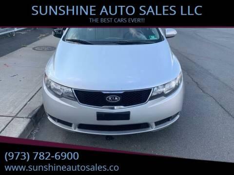 2010 Kia Forte for sale at SUNSHINE AUTO SALES LLC in Paterson NJ