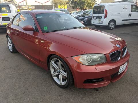 2008 BMW 1 Series for sale at Convoy Motors LLC in National City CA