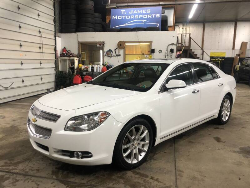 2011 Chevrolet Malibu for sale at T James Motorsports in Gibsonia PA