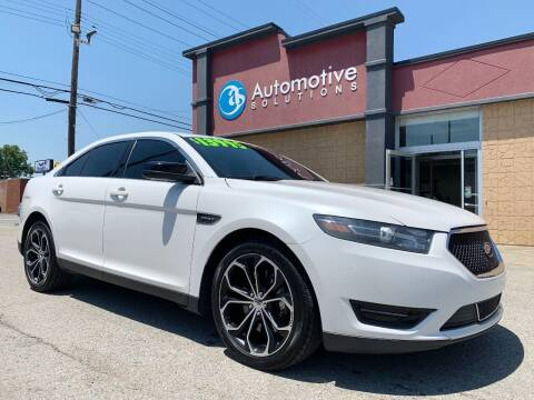 2013 Ford Taurus for sale at Automotive Solutions in Louisville KY