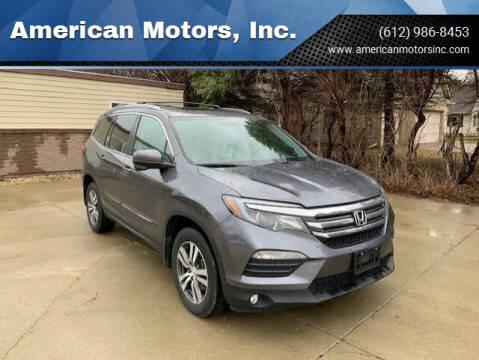 2017 Honda Pilot for sale at American Motors, Inc. in Farmington MN