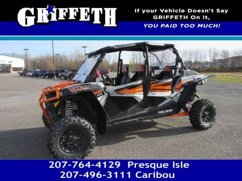2018 Polaris Ranger RZR for sale at Griffeth Mitsubishi - Pre-owned in Caribou ME