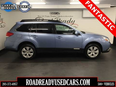 2010 Subaru Outback for sale at Road Ready Used Cars in Ansonia CT