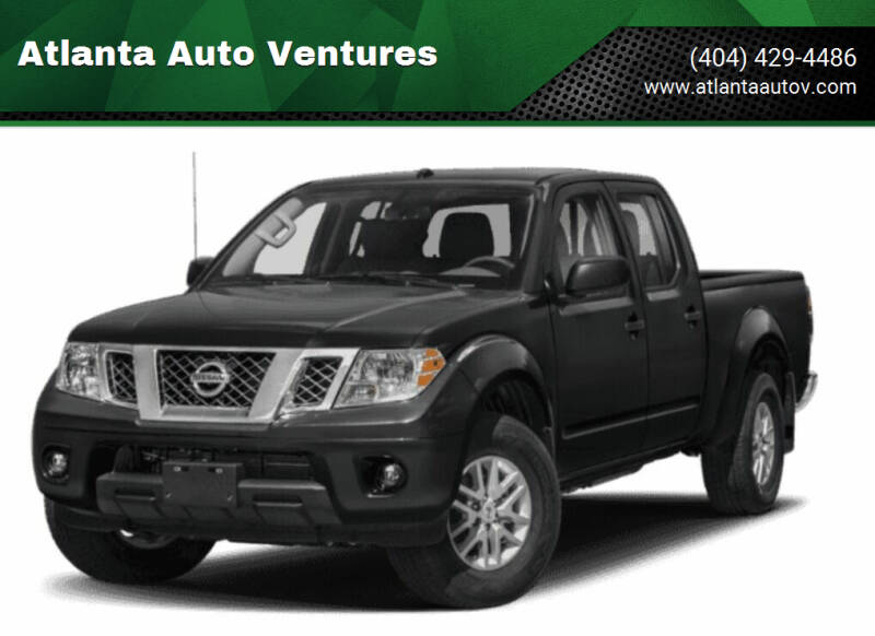 2019 Nissan Frontier for sale at Atlanta Auto Ventures in Roswell GA