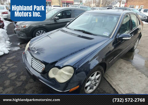 2002 Mercedes-Benz C-Class for sale at Highland Park Motors Inc. in Highland Park NJ
