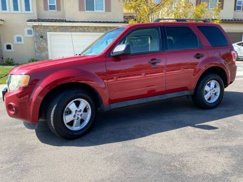 2010 Ford Escape for sale at CALIFORNIA AUTO GROUP in San Diego CA