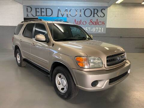 2004 Toyota Sequoia for sale at REED MOTORS LLC in Phoenix AZ