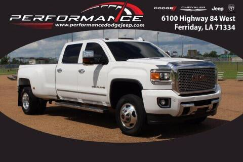 2016 GMC Sierra 3500HD for sale at Performance Dodge Chrysler Jeep in Ferriday LA