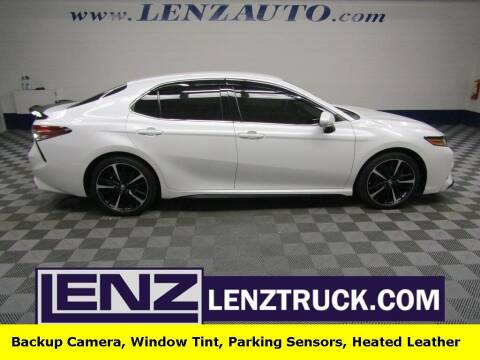 2018 Toyota Camry for sale at LENZ TRUCK CENTER in Fond Du Lac WI
