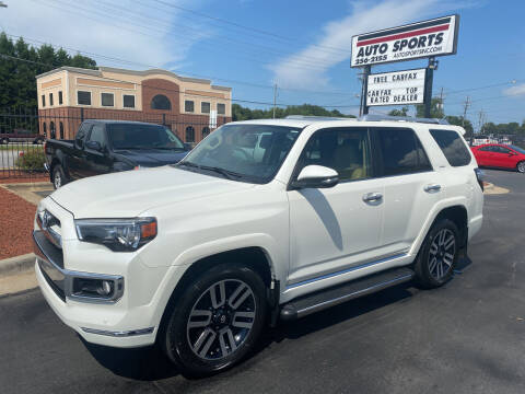 2017 Toyota 4Runner for sale at Auto Sports in Hickory NC